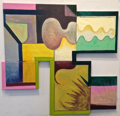 Yellow, Green and Pink (2016)