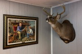 Deer head and painting, Perry County, AL (2018)