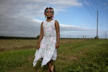 Girl with barrettes, Autauga County, AL (2017)